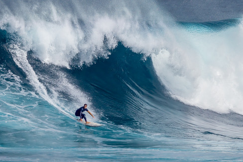 'Big Wave Surfer' by Vittorio Silvestri - Accepted