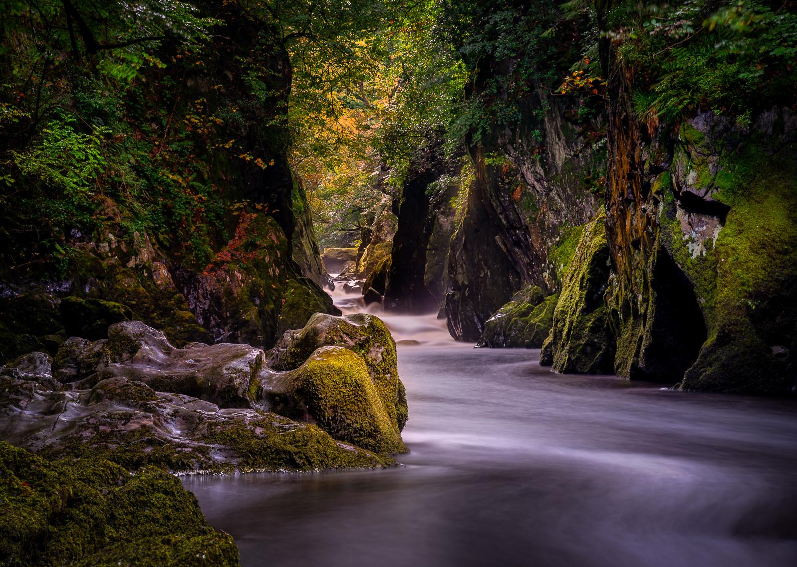 'Fairy Glen - Wales' by Robert Sergeant ( 13.5 marks )