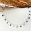 Thumbnail: Bijou de cheville Agate multicolore