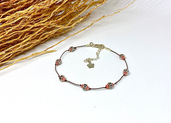 Bracelet Diwali Corail bambou