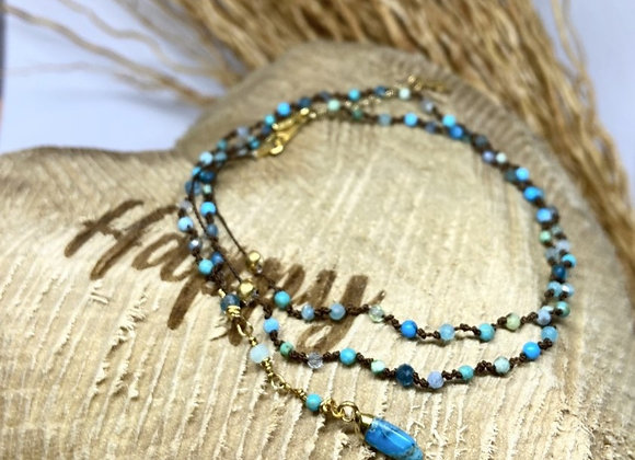 Collier Totem Lizzy Turquoise