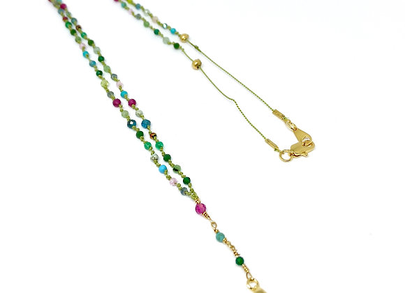Collier Totem Chelsy Rubis