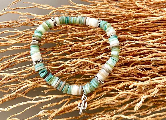 Bracelet surfeuse coquillage