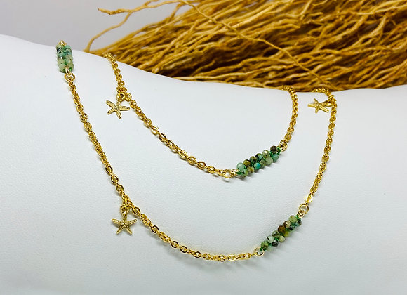 Collier Signature Turquoise indienne