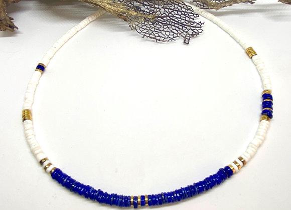 Collier Surfeur Lapis Lazuli