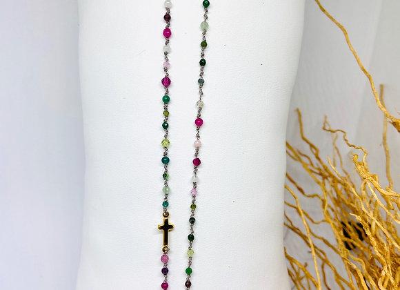 Collier Eternel croix San Remo