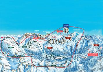 plan domaine skiable chamonix