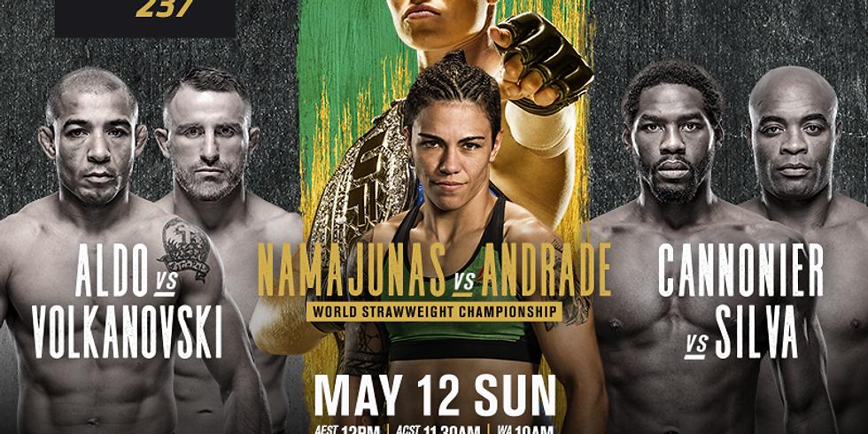 UFC 237 - Women's Strawweight Title: Namajunas v Andrade
