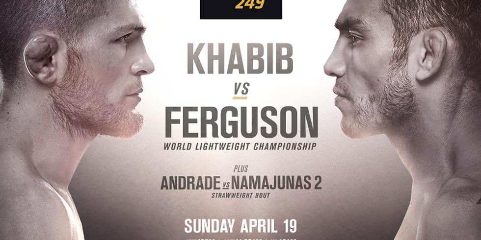 UFC 249 Lightweight Title Khabib v Ferguson
