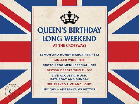 QueensBirthdayLongWeekend_Crossways_POS.