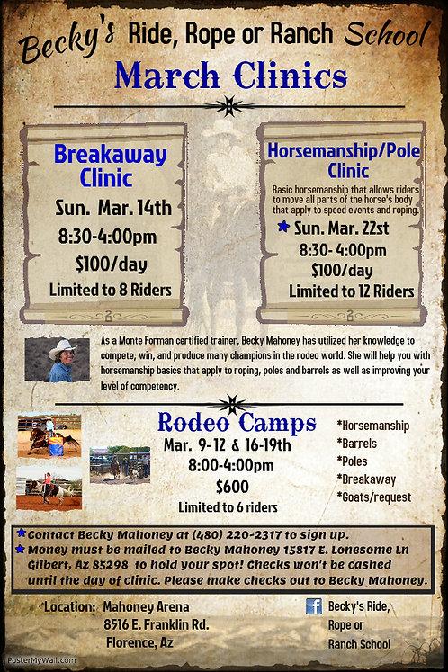 Horsemanship/Pole Clinic