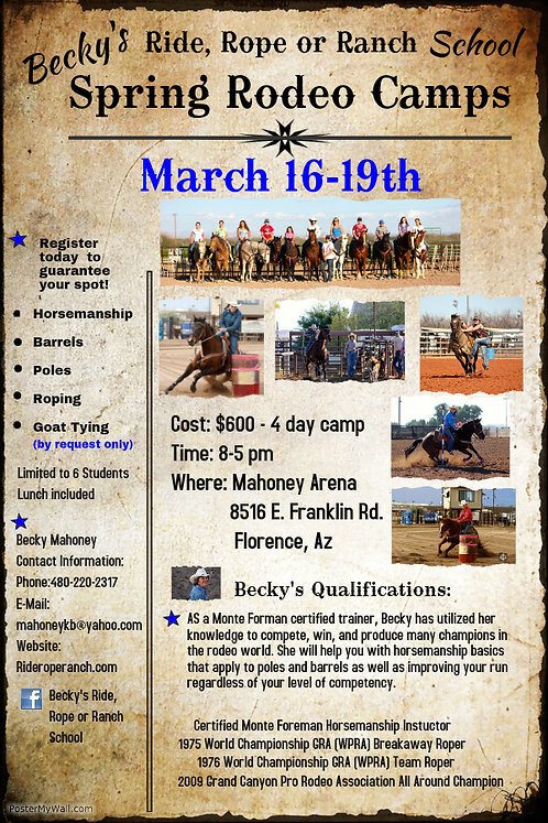Rodeo Camp