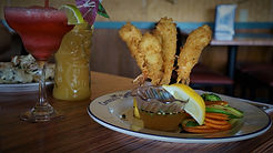 Shrimp Tikis Coconut Grill