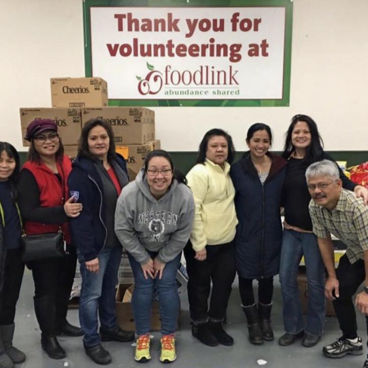Donation Sorting  at Foodlink