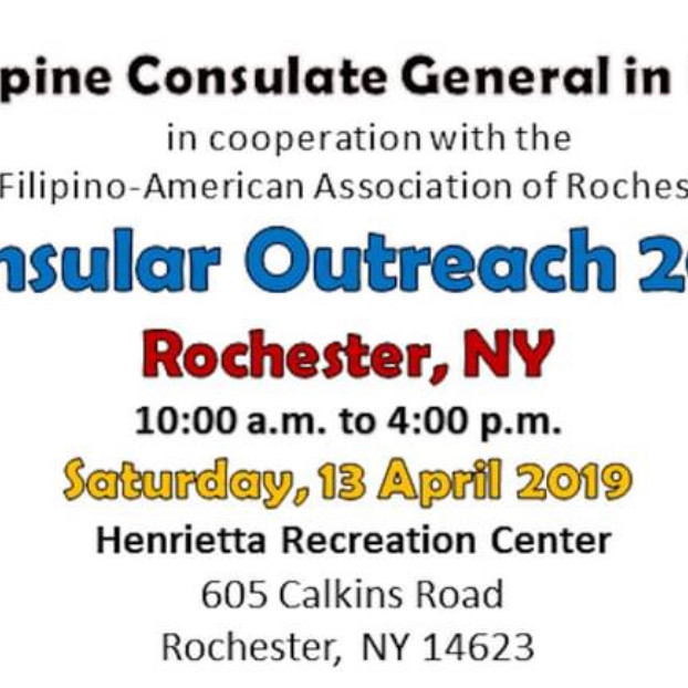 Philippine Consulate General in New York - Consular Outreach 2022