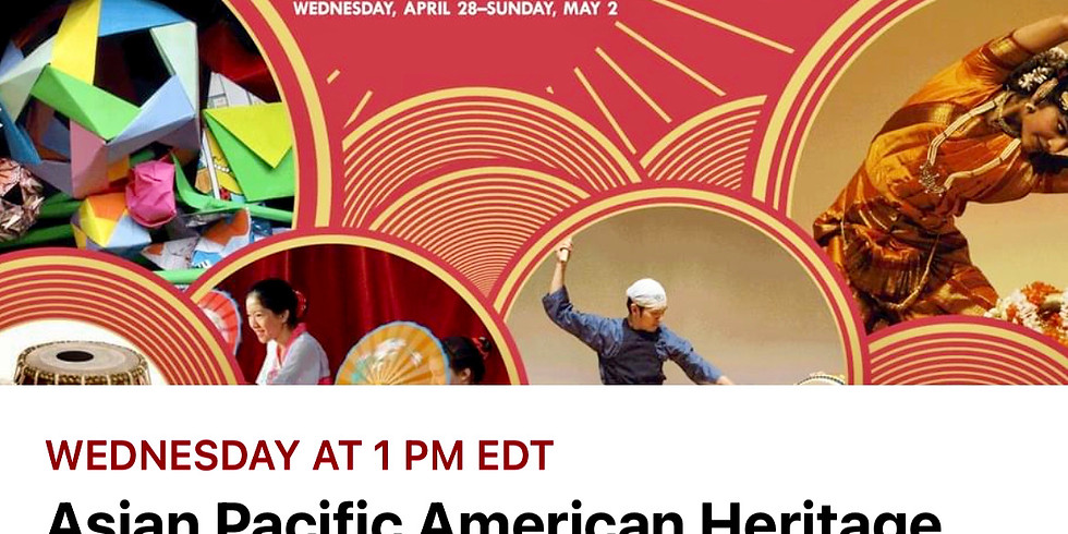 Asian Pacific American Heritage Celebration Day