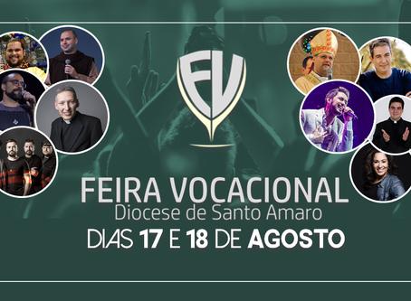 Feira Vocacional - Diocese de Santo Amaro realiza 28ª edição da  no Biênio da Juventude