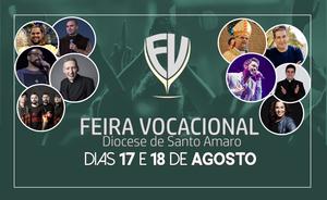 Atrações da Feira Vocacional 2019 da Diocese de Santo Amaro - São Paulo/SP