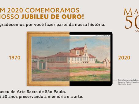 Exposição digital do museu de arte sacra do Brasil
