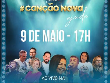 Canção Nova faz live neste sábado (09/05)
