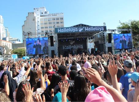 Halleluya São Paulo reúne 10 mil fiéis