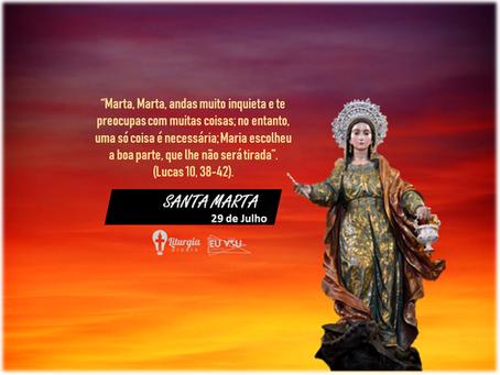 Quem é Santa Marta?