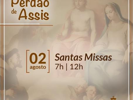 Festa do Perdão de Assis tem missas no Santuário do Pai das Misericórdia