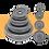 Thumbnail: משקולות צלחת ברזל אפור