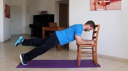 אימון כוח לכל הגוף / ציוד: כיסא