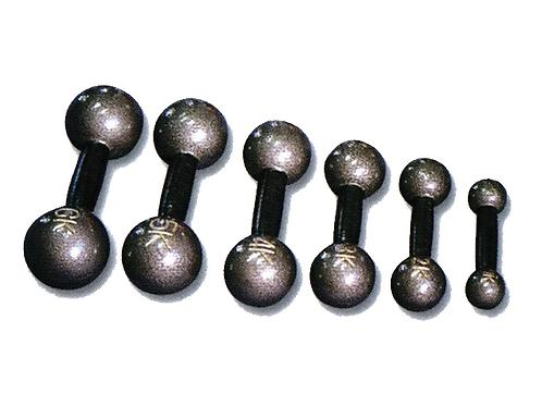 משקולות יד ברזל-אפור