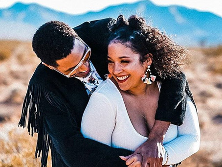 Can you 'Feel the Funk' in engagement photo shoot in Las Vegas