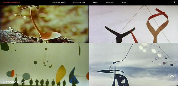 Alexander Calder, Short Films