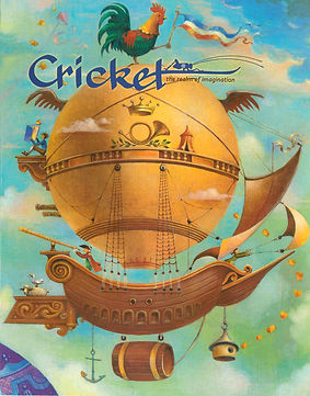 Cricket magazine, Joseph Taylor, Montgolfier brothers