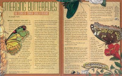 Maria Sibylla Merian, Joseph Taylor, Cricket magazine, Emerging Butterflies