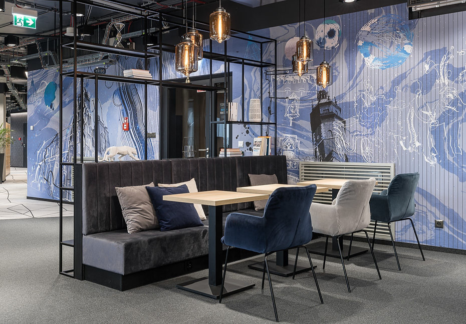 Interior Design for Universal Investment, High5ive