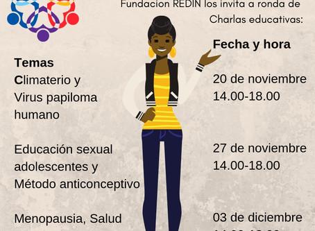 Charlas educativas: Salud de la mujer
