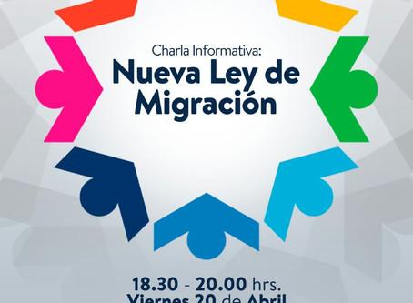 Charla nueva ley de migración