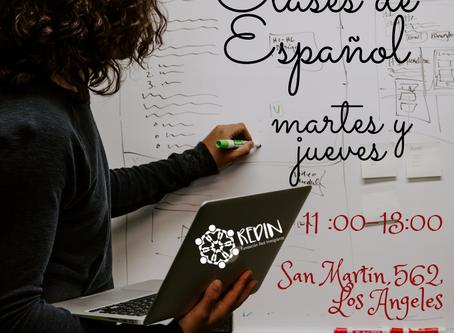 Clases de Español Gratuitas en Fundación REDIN