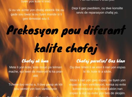 Precauciones a tener este invierno con los diferentes tipos de calefacción