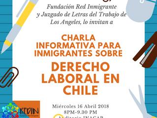 Juzgado de letras del Trabajo realizará charla para inmigrantes