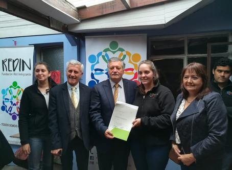 Fundación recibe subvención municipal