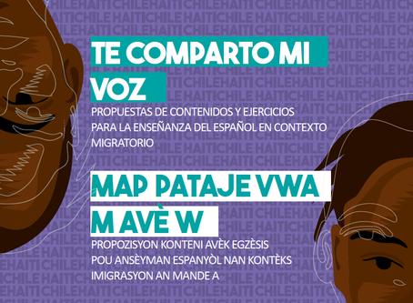 Libro para enseñar español a haitianos: