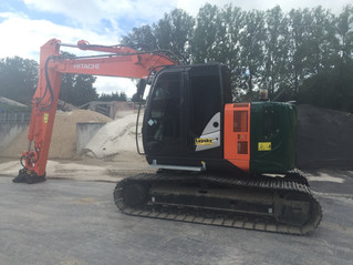 Lincoln vetsmering op Hitachi 135 us