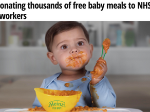 Heinz Baby & The Work Perk supporting The NHS
