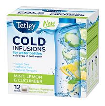 18386 Tetley Cold Infusions Mint Lemon C