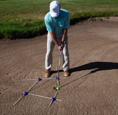 Open Stance, Open Clubface Angle for more Bounce and Higher Loft