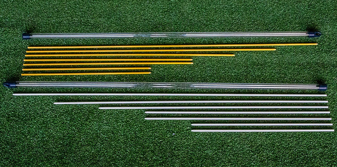 Five Guide Rod Set (White or Yellow)