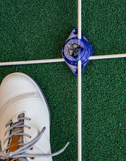 setup image showing the best  way to setup the Golf Puck