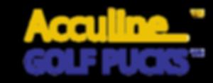 Acculine-Golf-Pucks-Logo-Yellow-Blue-TM-