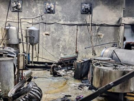 Cylinder blast in Bengaluru food factory; 2 died & 3 injured